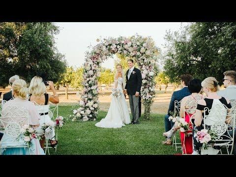 David Hasselhoff and Hayley Roberts Wedding  in Apulia