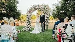 David Hasselhoff and Hayley Roberts Wedding Video in Apulia
