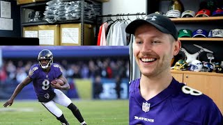 Rugby Player Reacts to LAMAR JACKSON Baltimore Ravens BALDY'S BREAKDOWN!