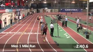 Brad Barton Sets New Men's Masters Mile World/American Record