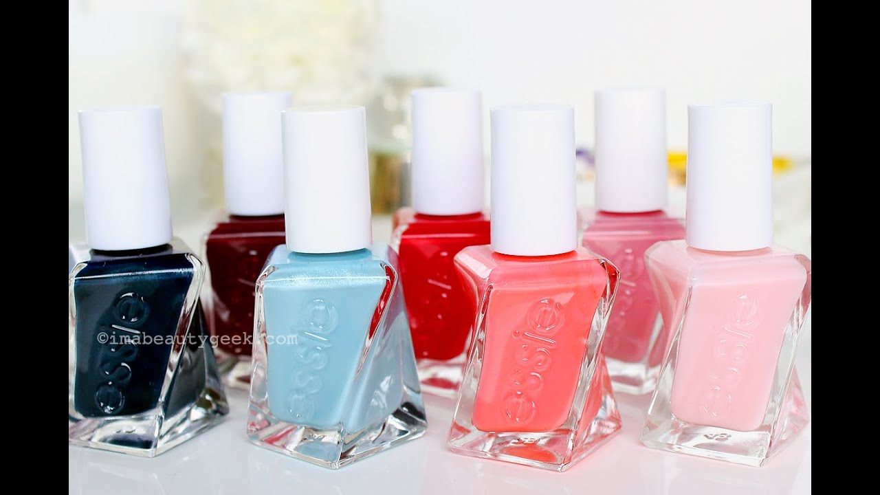 BEAUTYGEEKS: Essie Gel Couture tutorial + review - YouTube
