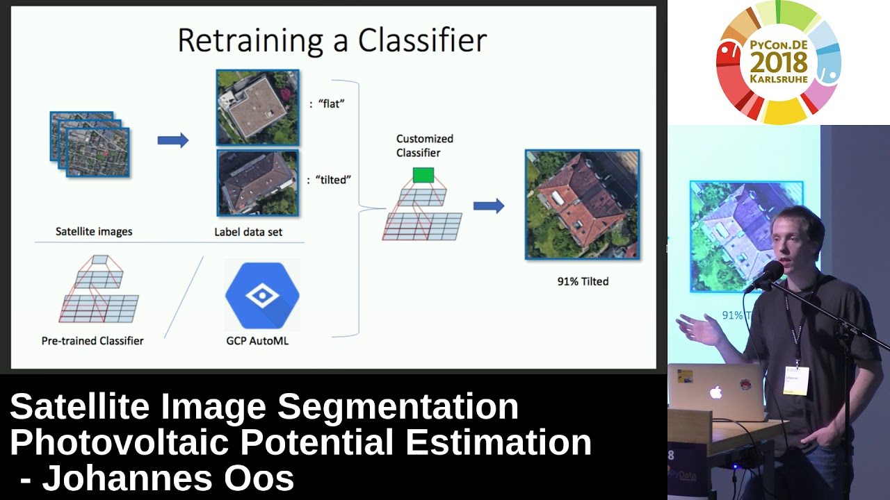 PyCon DE 2018: Satellite Image Segmentation Photovoltaic Potential  Estimation - Johannes Oos