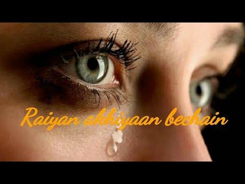 Akhiyaan Bechain – Nachhatar Gill || whatsapp status video ||