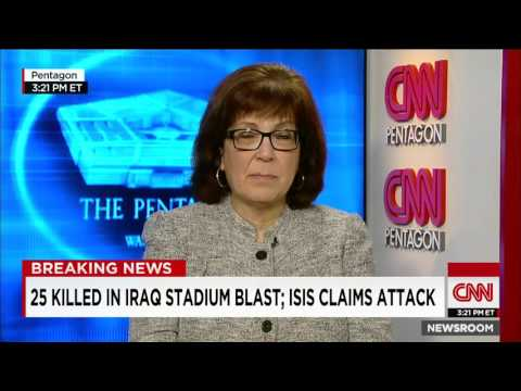 Suicide Attack In Iraqi Stadium Blast Kills 25 People