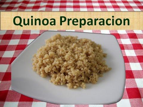 Preparaciones con quinua molida