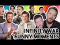 AVENGERS INFINITY WAR CAST FUNNY MOMENTS COMPILATION 2018
