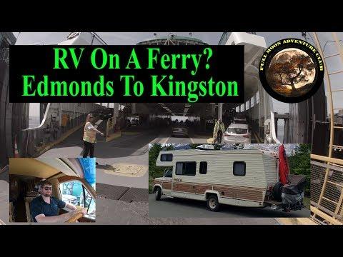Edmonds To Kingston Ferry In A RV