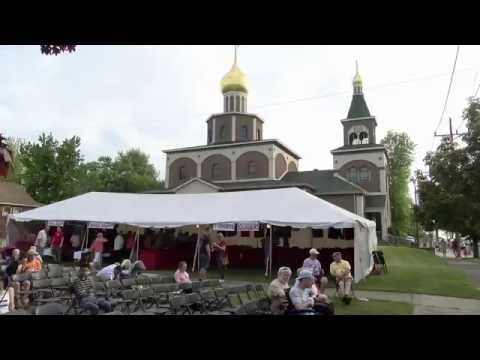 "The 8th Annual Russian Festival ""TROIKA"". Erie, Pennsylvania.May 2016."