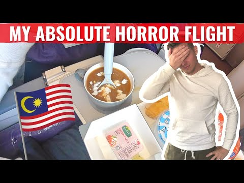 Review: My HORROR FLIGHT on MALAYSIA AIRLINES - How I was BU