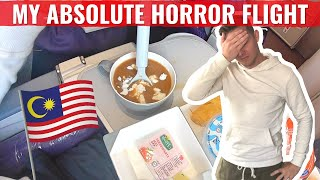 Review: My HORROR FLIGHT on MALAYSIA AIRLINES - How I was BULLIED by an Airline!