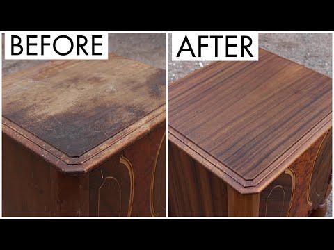 Furniture Restoration | Restoring An Old Cabinet
