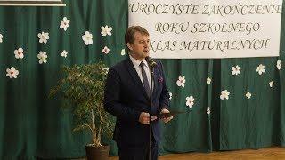 """Zakończenie roku szkolnego klas maturalnych w """"Rubinku"""""""
