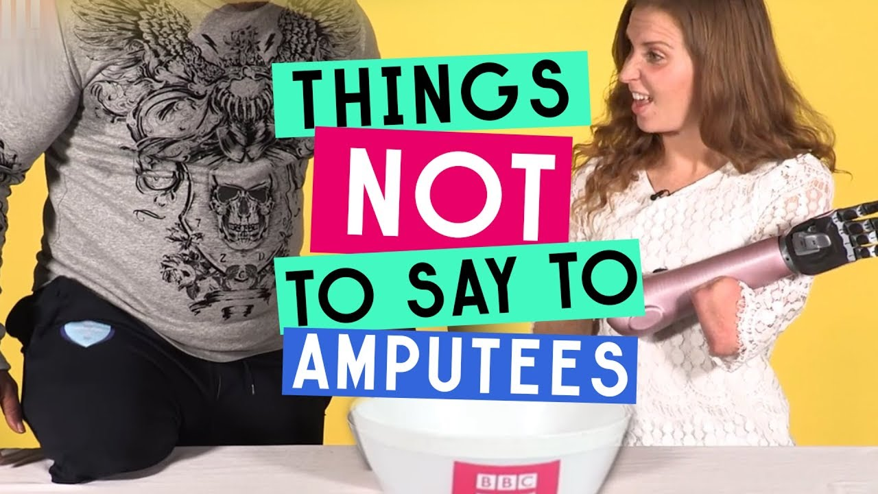 Health: 10 Things Amputees and People With Limb Differences