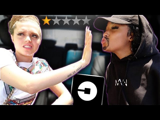 I PICKED VICKY UP IN AN UBER UNDER DISGUISE! *went terrible*