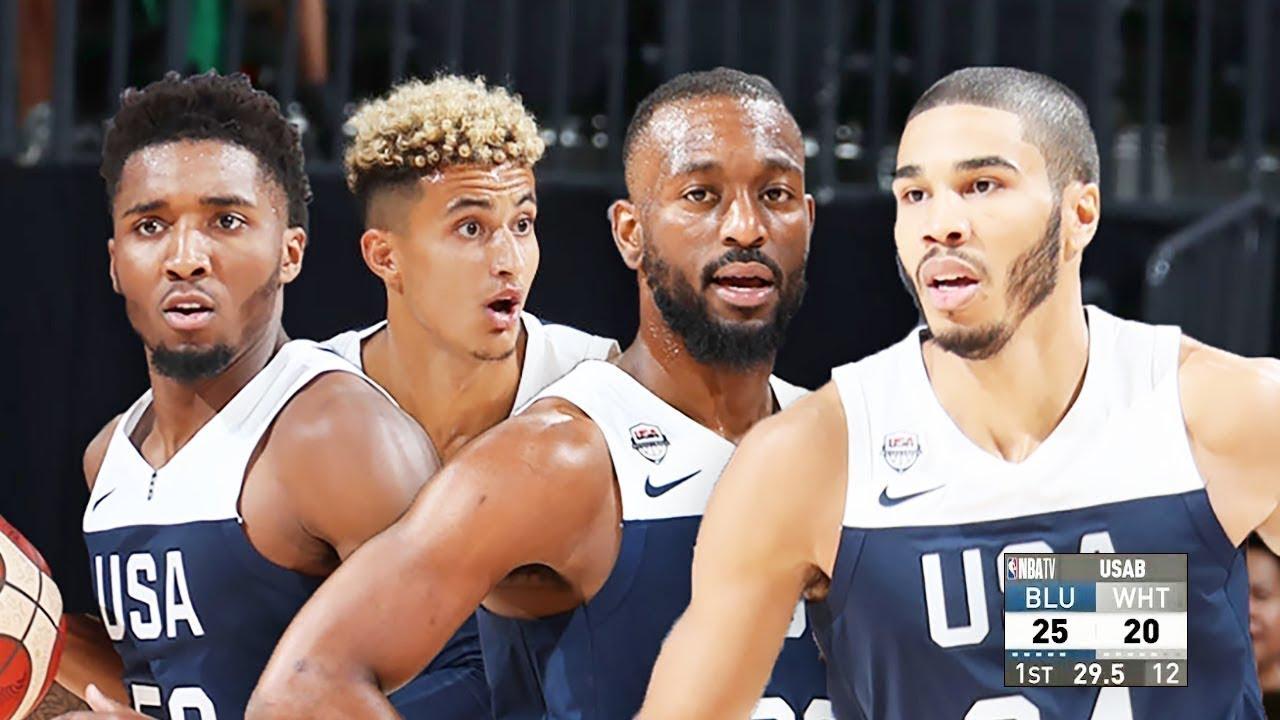 USA Blue vs USA White Team USA Exhibition Games | FIBA Basketball World Cup 2019