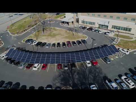 RCCC 323 kW Solar Community College with Solar Carport