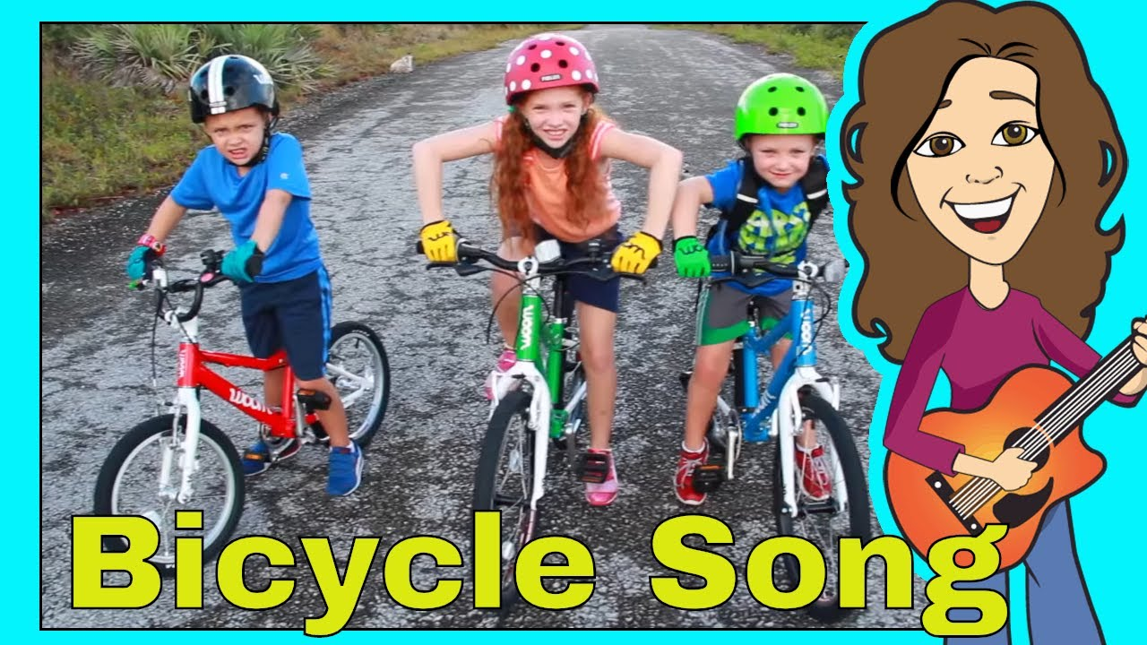 Bicycle Song For Children My Bicycle Bike Song For Kids Patty