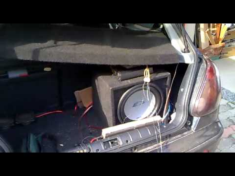 Impianto stereo da auto in fase di preparazione youtube - Impianto stereo da camera ...