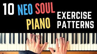 10 Neo Soul / Hip Hop Piano Exercise Patterns