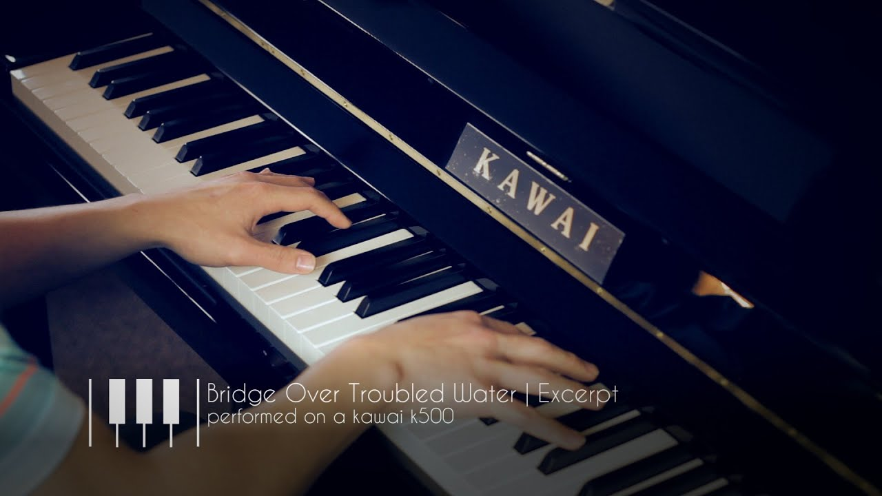 Kawai Upright Pianos Chupps Piano Service Inc >> Kawai K 500 Upright Piano Bridge Over Troubled Water Excerpt