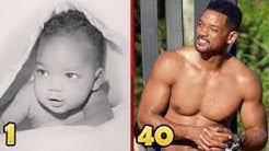 Will Smith früher und heute