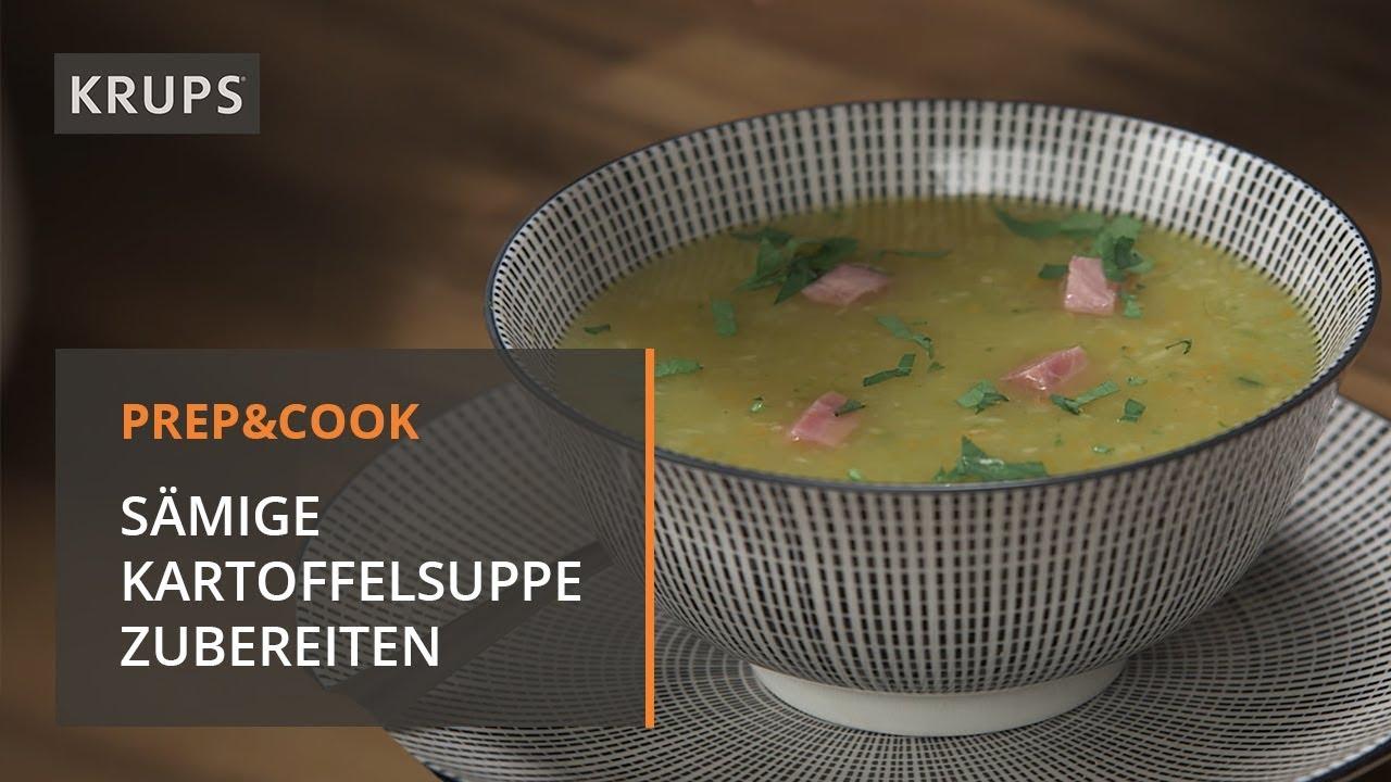 Hp 5031 Krups Prep Cook Rezept Kartoffelsuppe Youtube