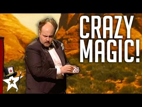 CRAZY Magician Finalist Gets Judges Laughing | Denmarks Got Talent | Magicians Got Talent
