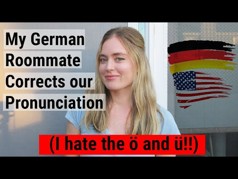 Two Americans Try to Say 20 Words from a German Dictionary (Frustrating)