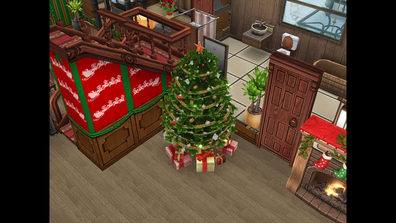 The Christmas Tree is Here! Sims FP Holiday Update Apple and ...