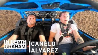 Canelo Alvarez's ranch: Dancing horses, 100mph off-roading