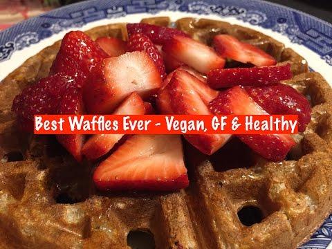 Best Waffles Ever - Vegan, GF & Healthy!
