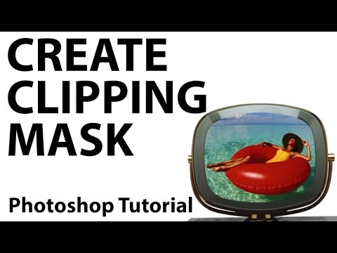 Photoshop How To Use A Clipping Mask