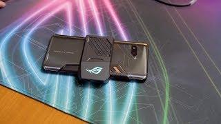 华硕ROG Phone游戏手机 超频高通845芯片 安兔兔跑分超30万
