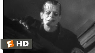 Frankenstein (8/8) Movie CLIP - Windmill Burns Down (1931) HD