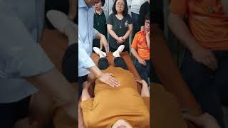 허리가 아픈 교육생