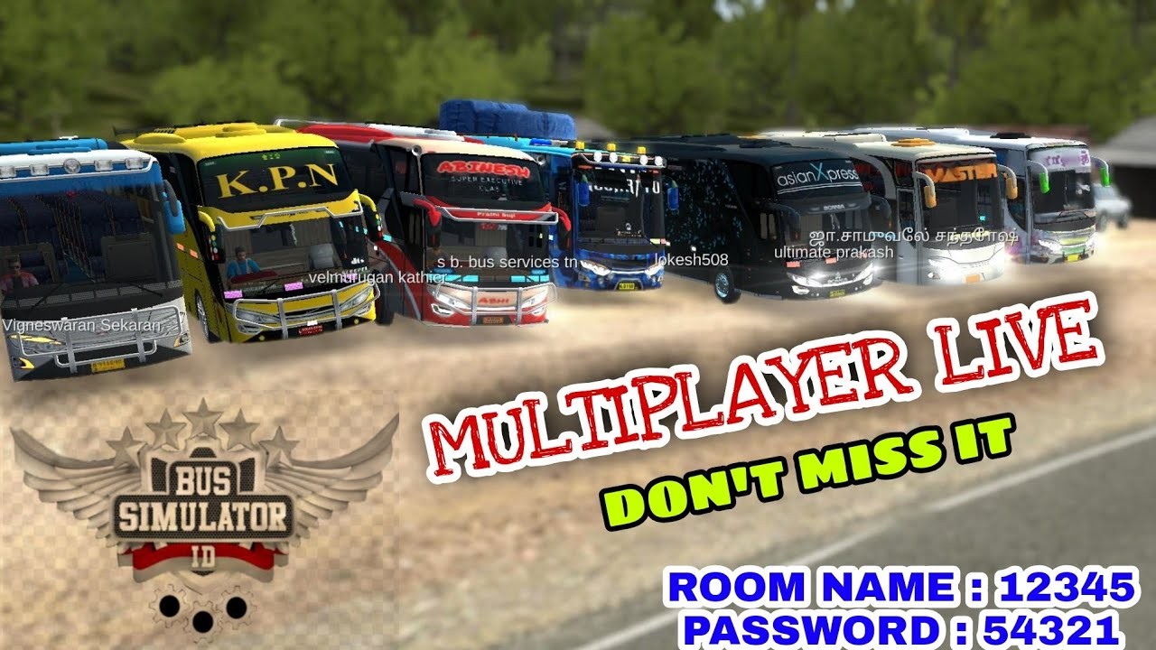 Bussid Multiplayer Live Part 30 (வாங்க விளையாடலாம்)