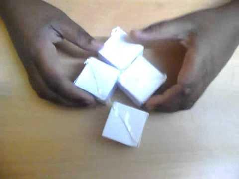 Paper 2x2 Rubik's Cube........Origami