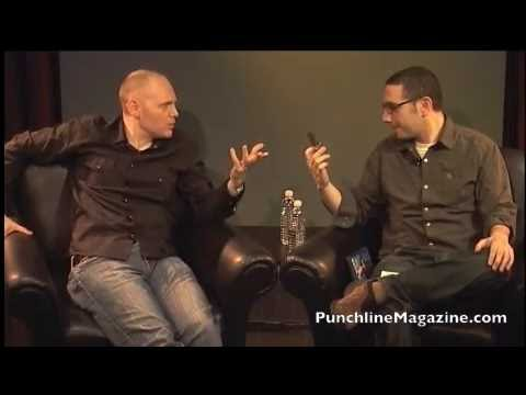 Bill Burr - Punchline Magazine Interview - 2008 - YouTube