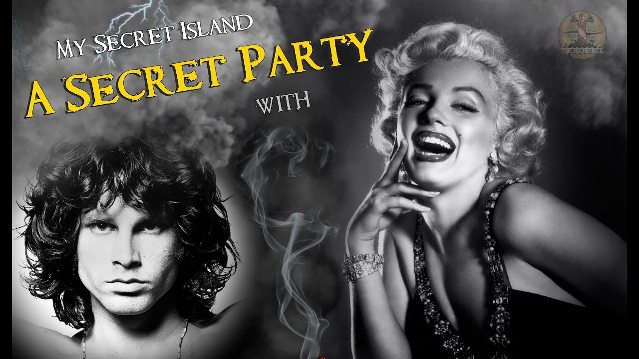 Elvis Marilyn Monroe Elvis Michael Jackson Jim Morrison Marilyn Monroe In A Secret Party By My Secret Island
