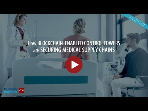 World's Only Blockchain-Enabled Pharmaceutical Control Tower