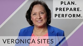 Plan. Prepare. Perform. | Veronica Sites