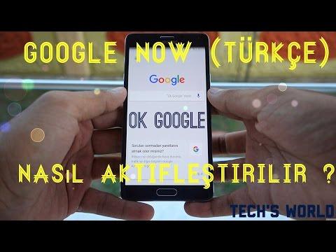 Google Now Nasıl Aktifleştirilir ?