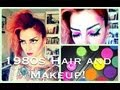 1980s Punk Hair & Makeup Halloween Tutorial by CHERRY DOLLFACE