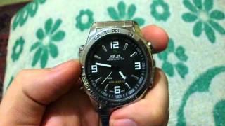 Інструкція російською до наручним LED годинах Weide WH1009-1