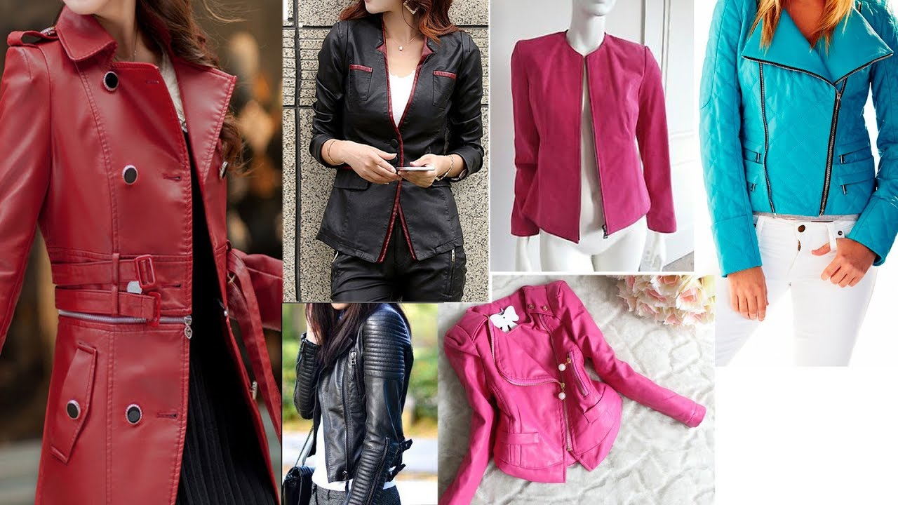 Casual Winter Leather Jackets For Ladies Leather Jacket Designs