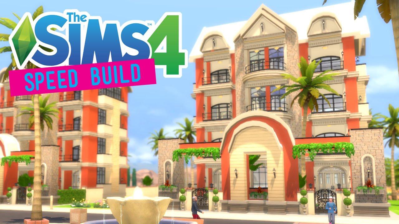 The Sims 4 Sd Build Mediterranean Contempo Apartments No Cc You