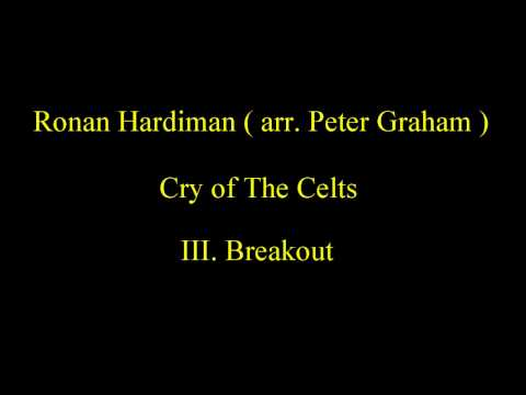 EBBC 1997 - Ronan Hardiman (arr. Peter Graham) - Cry of The Celts
