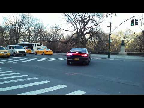 Federal Law Enforcement Authorities Responding On Central Park West
