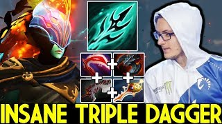 MIRACLE [Phantom Assassin] Insane Triple Dagger Damage Rapier Build 7.25 Dota 2