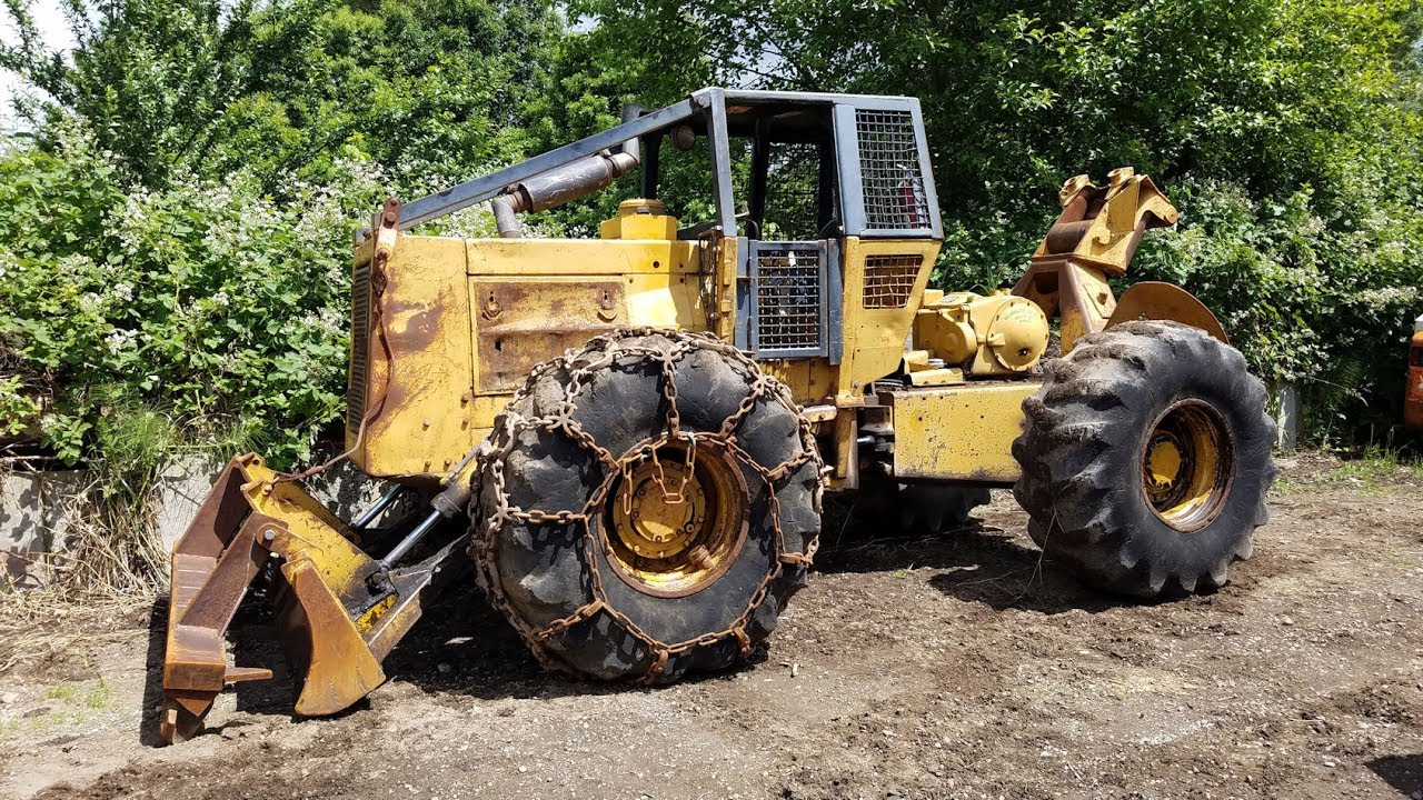 1976 Caterpillar 518 Log Skidder sn# 50S1778
